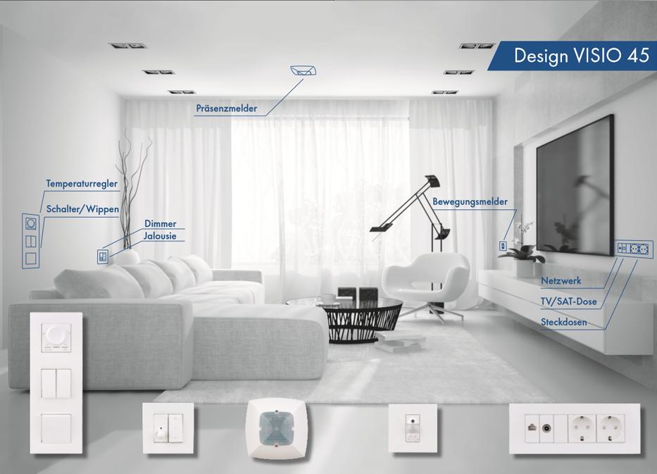 Design VISIO 45 - Schrack Technik