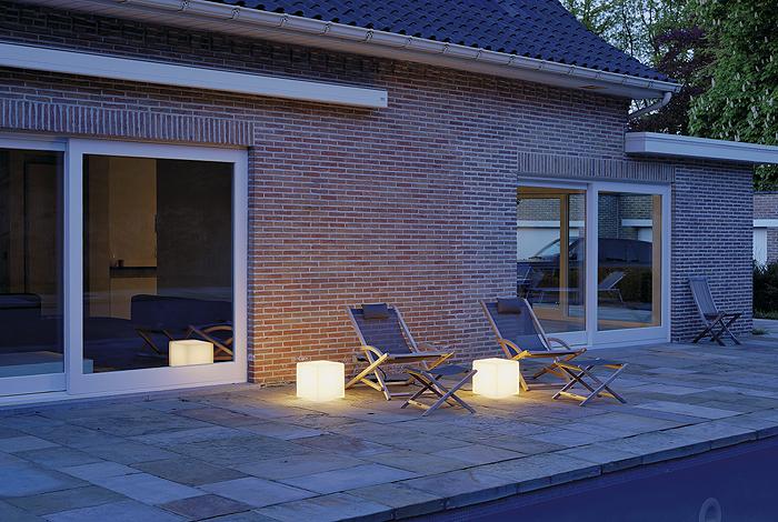 Terrassen Beleuchtung terrassenbeleuchtung schrack technik