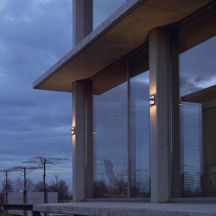 Fassadenbeleuchtung Hausbeleuchtung Garagenbeleuchtung Schrack