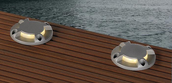 Wegbleuchtung schrack technik - Bodenbeleuchtung terrasse ...